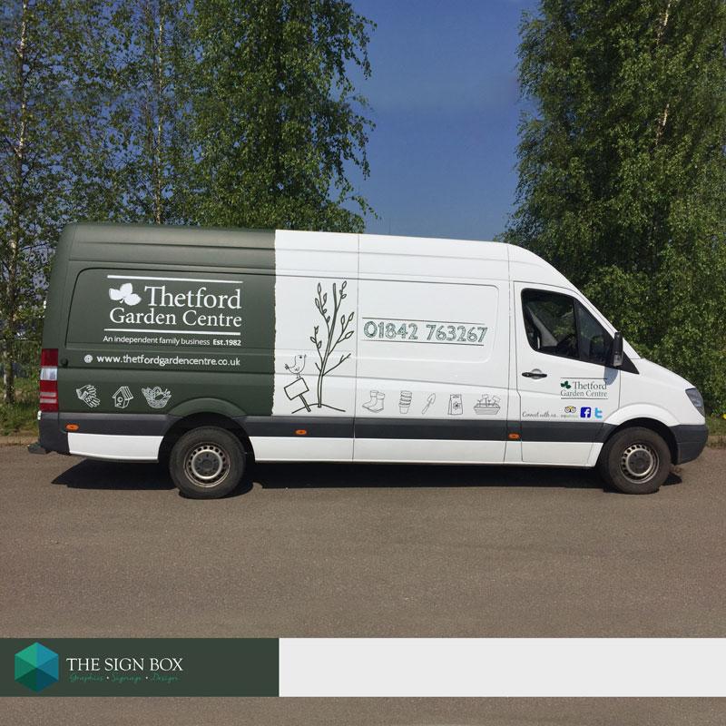 Van Design Signs Norfolk Van Graphics Norwich Work